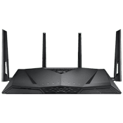 [802.11a/b/g/n/ac] ASUS RT-AC3100 Wireless Dual Band Gigabit Gaming Router-Up to 3167Mbps, dual 2.4GHz/5GHz bands