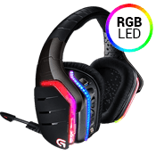 Logitech G933 Artemis Spectrum RGB 7.1 Wireless Gaming Headset-PRO-G™ Audio Drivers For Superior Performance