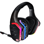 Logitech G933 Artemis Spectrum RGB 7.1 Wireless Gaming Headset - Virtual 7.1 Surround Sound-PRO-G™ Audio Drivers For Superior Performance