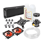 Thermaltake Pacific R240 240mm Soft Tubing Custom Liquid Cooling Kit