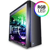Thermaltake Versa C23 Tempered Glass RGB Gaming Case