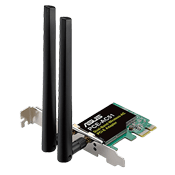 Asus PCE-AC51 AC750 Wireless Network Card 802.11ac Dual-Band (2.4GHz/5 GHz) up to 750 Mbps