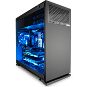 In Win 102 Mid Tower Gaming Case - Black-Black