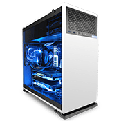 In Win 102 Tempered Glass Gaming Case - White-White