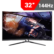 "32"" [1920x1080] Sceptre C325B-144KN Curved Gaming Monitor -- 144Hz 3ms + AMD FreeSync-Single Monitor"