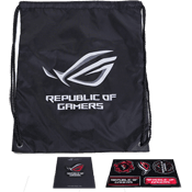 [FREE] - ASUS Goodies-Includes ASUS ROG Drawstring Backpack + Pin and Stickers