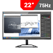 "22"" [1920x1080] Sceptre E225W-1920RR Monitor - 75Hz 5ms-Single Monitor"