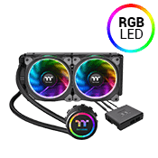 Thermaltake Floe Dual Riing 240mm RGB AIO Liquid Cooler