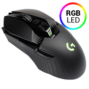 Logitech G903 LIGHTSPEED Gaming Mouse Wireless Charging Compatible-ADVANCED PMW3366 SENSOR. DPI range (200 - 12,000 dpi) at speeds over 400 IPS