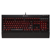 Corsair K68 Water Resistant Mechanical Gaming Keyboard [Red Switches]-Red LED, Cherry MX Red Switches