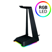 Razer Base Station Chroma - RGB Enabled Headset Stand with USB Hub-3-port USB 3.0 Hub,Full programmable with Razer Synapse