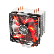 DEEPCOOL Gammaxx 400 CPU Cooler - Red LED-Red