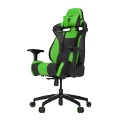[$239] Vertagear Racing Series SL4000 Green/Black Gaming Chair ($339 Value)