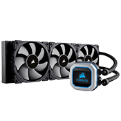 CORSAIR Hydro Series H150i PRO 360mm Liquid Cooling System-[Ryzen]