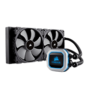 CORSAIR Hydro Series H115i PRO 280mm RGB Liquid CPU Cooling System-[Ryzen]
