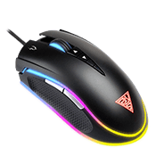 Gamdias ZEUS M1 Dual RGB Optical Gaming Mouse - Adjustable Weight-Optical 7000dpi Mouse, HERA Enabled