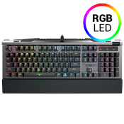 Gamdias HERMES P2 RGB Mechanical Optical Gaming Keyboard [Blue Switches]-Blue Switches, Anti-Ghosting