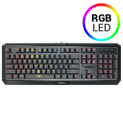 Gamdias HERMES P3 RGB Mechanical Low-Profile Aluminum Gaming Keyboard-Brown Switches, Anti-Ghosting