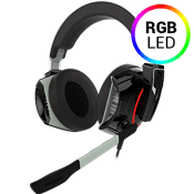 Gamdias Hephaestus P1 RGB Gaming Headset - Virtual 7.1 Surround Sound-7.1 Surround Sound, Cooling Structure