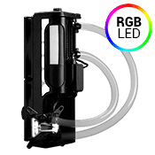Swiftech H220 X3 240mm Liquid Cooling System - Clear