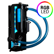Swiftech H220 X3 240mm Liquid Cooling System - Blue