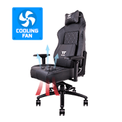 Tt eSPORTS X COMFORT AIR Cooling Professional Gaming Chair - [Black]