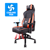 Tt eSPORTS X COMFORT AIR Cooling Professional Gaming Chair - [Black/Red]