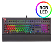 TT Premium X1 RGB Mechanical Gaming Keyboard [Silver Switches]-Cherry MX Speed Silver Switches