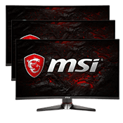 "27"" [1920x1080] MSI Optix MAG27C Curved Gaming Monitor -- 144Hz 1ms + AMD FreeSync + G-Sync Compatible-Triple Monitor"