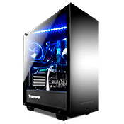 iBUYPOWER 502 Tempered Glass Gaming Case - Black
