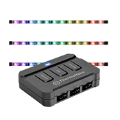Thermaltake LUMI Color LED Strip Control Pack-3 Pack RGB Lighting Strips