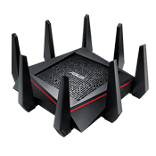 [802.11a/b/g/n/ac] ASUS RT-AC5300 Wireless Tri-band Gigabit Gaming Router-Up to 5334 Mbps, 2.4G Hz, 5 GHz-1, 5 GHz-2
