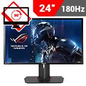 24'' [1920x1080] ASUS ROG SWIFT PG248Q Gaming Monitor w/ Eye Care -- 180Hz 1ms + G-Sync + Free Asus Mousepad-Single Monitor