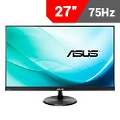 "27"" [1920x1080] ASUS VP279Q-P EyeCare Monitor -- 5ms response time + 80Hz refresh rate-Single Monitor"