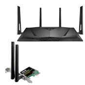 [$269] - ASUS RT-AC3100 Gaming Router - Includes Free Asus PCE-AC51 AC750 Network Card