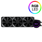 NZXT Kraken X72 360mm Liquid Cooling System-comes with all fittings