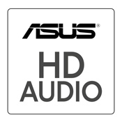 ASUS HD Audio-With Smart AMP