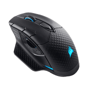Corsair Dark Core RGB SE Wired/Wireless Gaming Mouse w/ Qi Wireless Charging-16000 DPI Optical Sensor