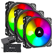 3x [RGB] Corsair ML120 PRO Premium Magnetic Levitation 120mm Fan