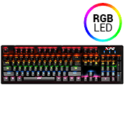 [$5] - Adata XPG INFAREX K20 Mechanical Keyboard [Blue Switches]-RGB LED, 11 Lighting Mode, Blue Switches