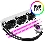 DEEPCOOL Captain 360EX 360mm Liquid Cooling System- White-[Ryzen]
