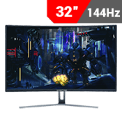 "32"" [1920x1080] Sceptre C325B-144R Curved Gaming Monitor -- 144Hz 8ms + AMD FreeSync-Single Monitor"