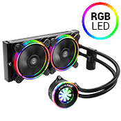 ENERMAX 240mm LIQFUSION All-In-One RGB Liquid CPU Cooling System-[Ryzen]