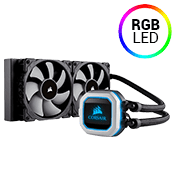 Corsair Hydro Series H100i PRO 240mm RGB Liquid CPU Cooler
