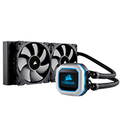 CORSAIR Hydro Series H100i PRO 240mm RGB Liquid CPU Cooling System-[Ryzen]