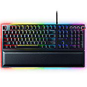 Razer Huntsman Elite Opto-Mechanical Gaming Keyboard [Optical Light Sensor Switches]-Razer Opto-Mechanical™ Switches; customizable Chroma backlight keys