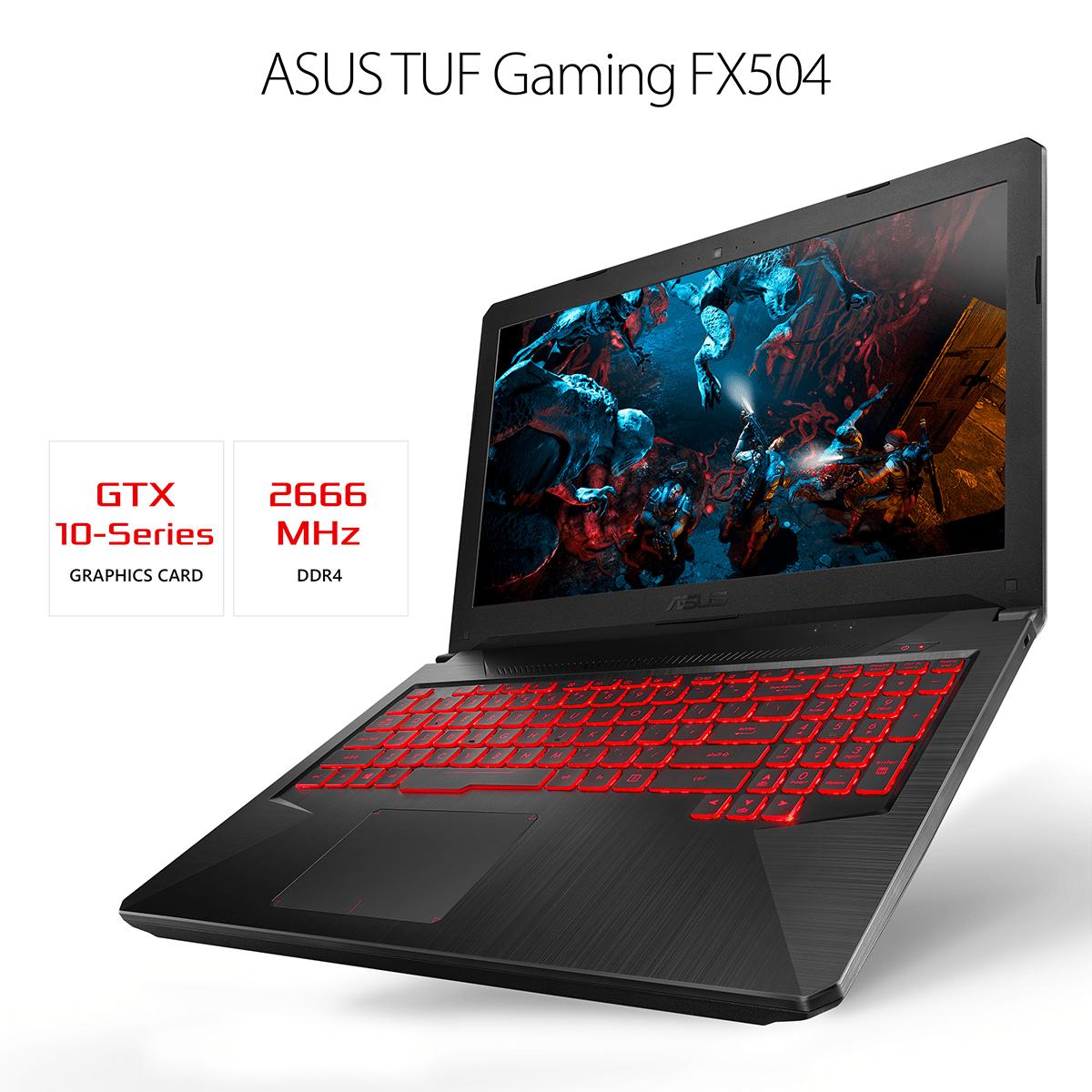 ASUS TUF FX504GE-ES72 Gaming Laptop [CFL]
