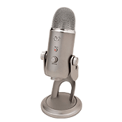 Blue Yeti USB Microphone - Platinum