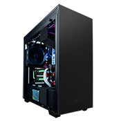 NZXT H700 Tempered Glass Gaming Case - Matte Black