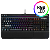HyperX Alloy Elite RGB Mechanical Gaming Keyboard-Cherry MX Brown Switches (Tactile and Balanced)